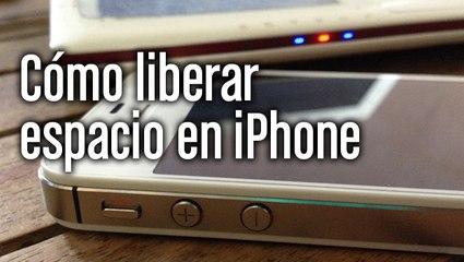 Cómo liberar espacio en iPhone sin borrar nada