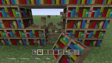 How to build a Secret Bookcase Entrance in Minecraft