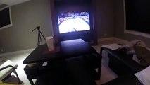 NBA2K15 Chris Kaman dunks on Dwyane Wade