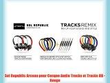 Sol Republic Arceau pour Casque Audio Tracks et Tracks HD - Rouge