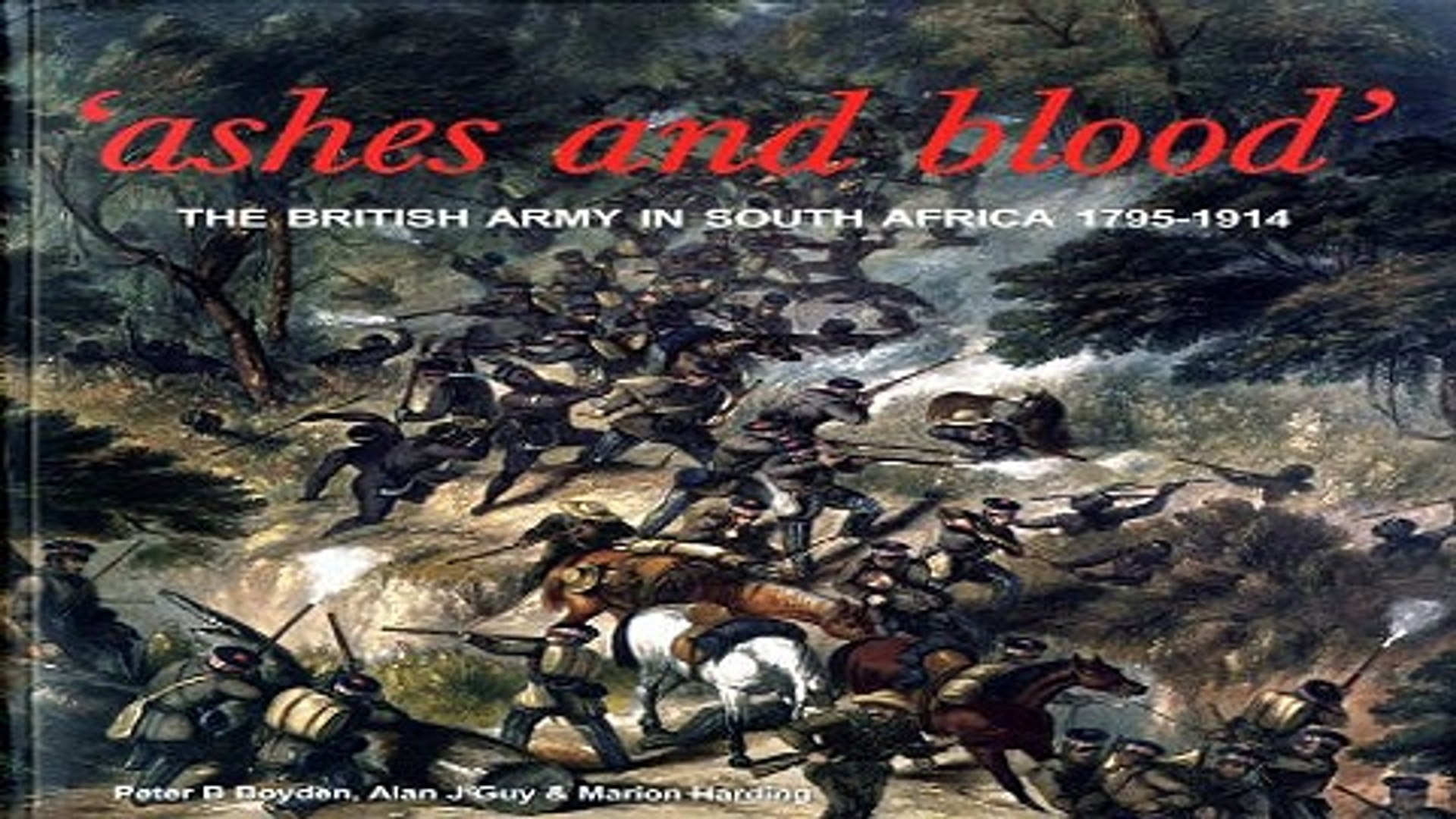 Read Ashes and Blood  The British Army in South Africa  1795 1914 Ebook pdf download