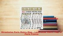 PDF  Streetwise Paris Metro Map  Laminated Metro Map of Paris France Download Full Ebook