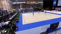 Group Finals Brazil 6 Clubs 2 Hoops Rhythmic Gymnastics World Cup 2016 Lisbon