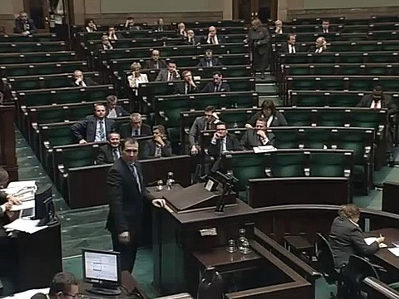 [291/376] Paweł Sajak: Panie Ministrze! Słyszymy, że Unia to straszne zło. Takie zło, że wś..