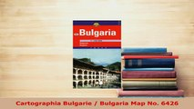 PDF  Cartographia Bulgarie  Bulgaria Map No 6426 Download Full Ebook