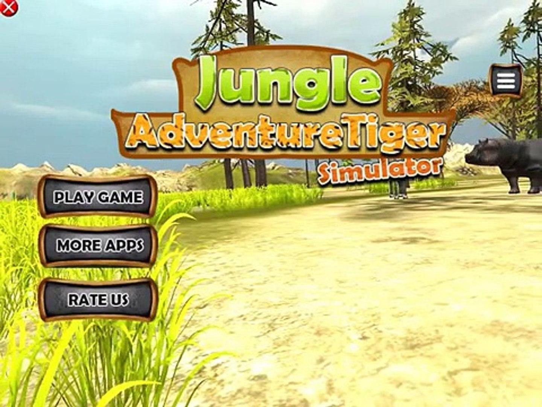 Jungle Adventure Tiger Simulator 3D Amazon Deadly Beast Animals Hunting  Simulation Gameplay