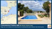 2 dormitorios 2 baños Villa se Vende en Villa, Moraira, Alicante, Spain