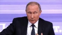 Putin Says it's Too Early to Say a Breakthrough Had Been Reached in Russia's Operstion in Syria