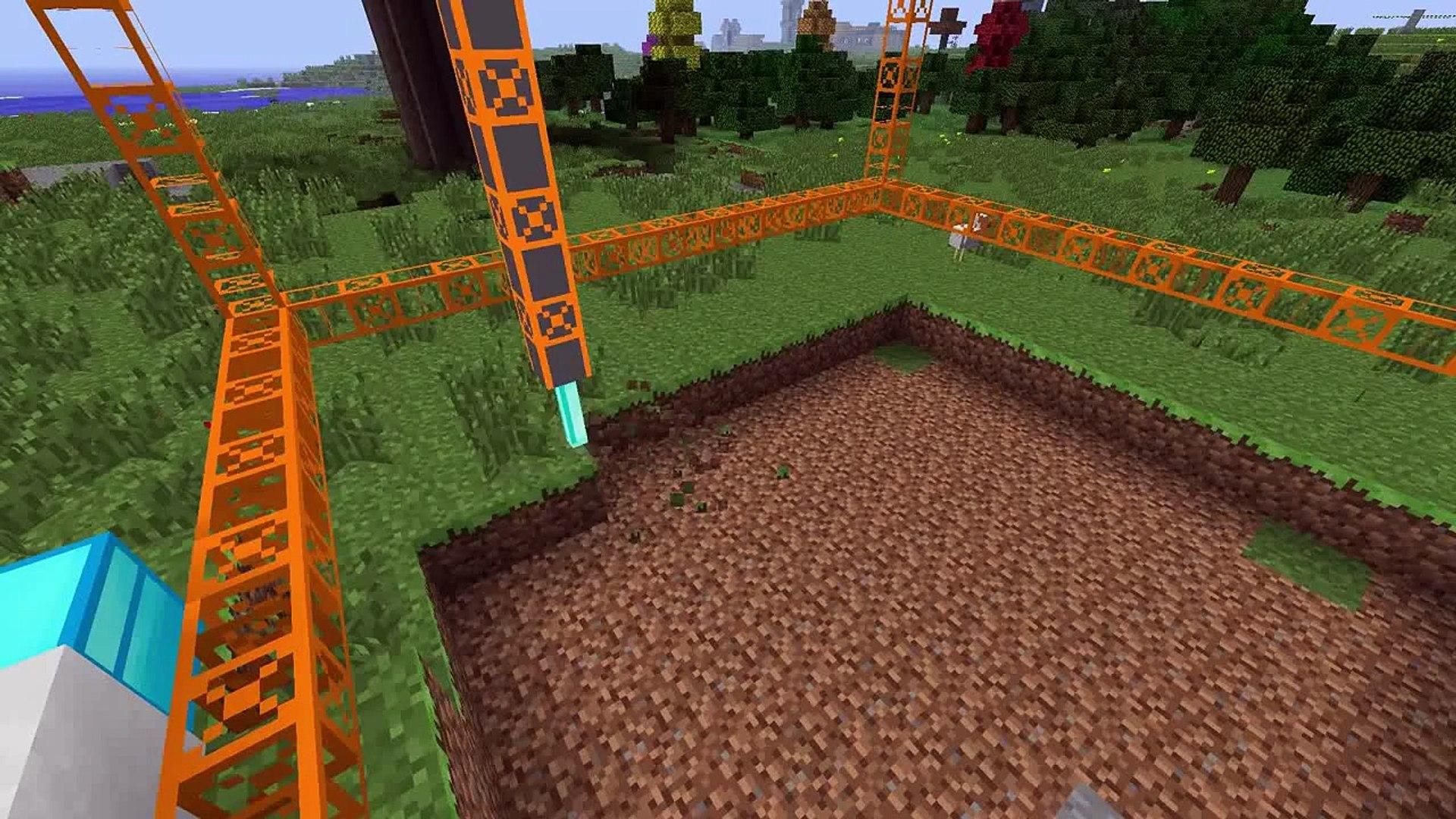 Buildcraft Quarry Full Setup Tekkit Feed The Beast Minecraft In