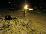 Tuxedo Ridge Snowboard Jumping 2 Bad Wipeouts, Bill lands a jump