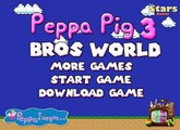 Peppa Pig Bros World 3   browser pc game