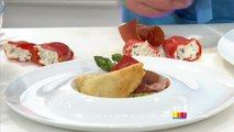 Recette d'Anne Alassane : raviolis panés au jambon séché