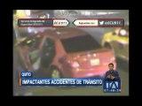 Graves accidentes de tránsito en Quito