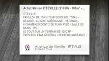 Vente - maison - ITTEVILLE (91760)  - 100m²