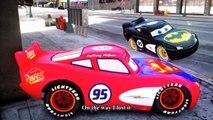Cars Songs For Kids ♪ A-Tisket A-Tasket ♪ Spider-Man Race Disney Cars Lightning