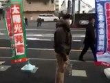Tremblement de terre en live au Japon - Yokohama _ Tokyo le 11 Mars 2011