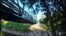 Bridge jump St Casimir 2014