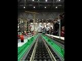 Führerstandsfahrt auf der Anlage der Lego Gemeinschaft Österreich bei der Modellbaumesse Wien 2011