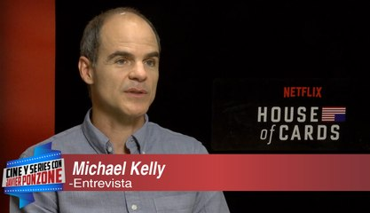A solas con Michael Kelly de House Of Cards