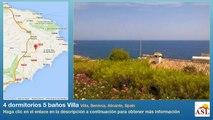 4 dormitorios 5 baños Villa se Vende en Villa, Benissa, Alicante, Spain