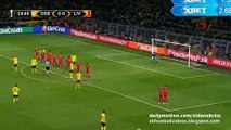 Marco Reus Almost Scored - Dortmund vs Liverpool | 07/04/2016