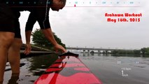 Sprint Kayak Training