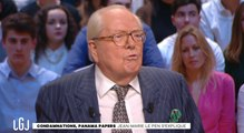 Jean-Marie Le Pen taxe les socialistes de Panama Pampers