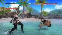 DEAD OR ALIVE 5 Last Round (PC) Rachel Ninja Gaiden Sigma vs Ryu Hayabusa unmasked Costume Mod