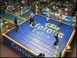 AAA-SinLimite 2009-03-22 Monterrey 01 Aero Star & Fabi Apache vs. Billy Boy & Sexy Star