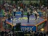 AAA-SinLimite 2009-03-20 Madero 03 Charly Manson, El Mesias & X-Pac vs. La Legion Extranjera