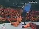 WWE   Unforgiven 2000   Fatal Four Way Match   Undertaker VS  Kane VS  Chris Benoit VS  The Rock