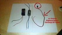 Basit Elektrik Devresi Nasıl Yapılır 5, 6 ve 7. Sınıflar Fen Bilimleri Dersi (Adnan)