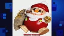 Encens allemand fumeur boule Figur Encens allemand fumeur Santa Claus  12 cm  5 pouces