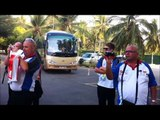 Young Cricketer's being welcomed by Gateway Hotel, Sri Lanka