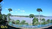 Morning at Riverside of Mekhong River,Khong Jiam,Ubon Rachathani,Thailand - ยามเช้า ริมโขง ที่ โขงเจียม อุบลราชธานี