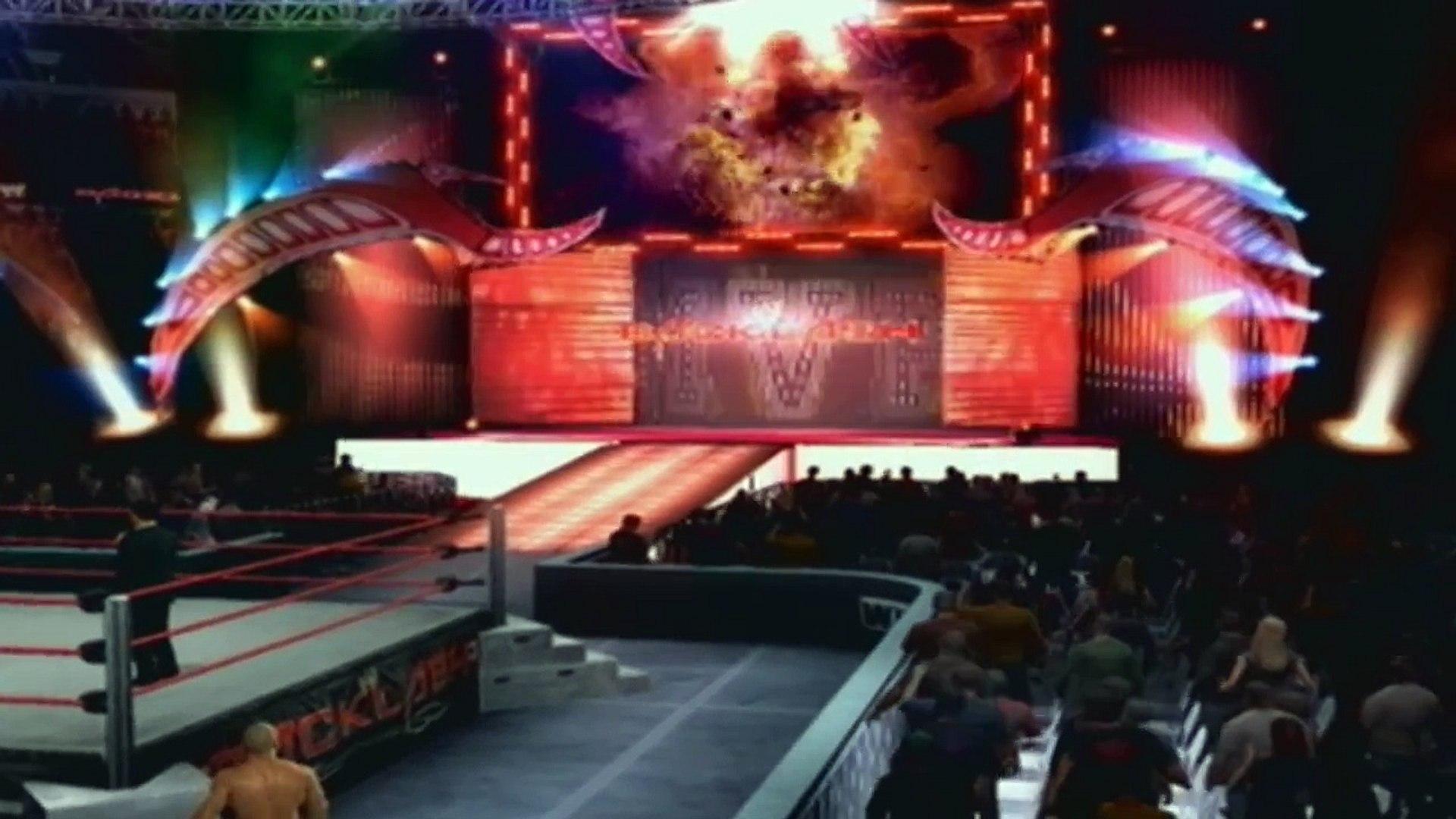 The Hart Dynasty vs MVP and Mark Henry - WWE Universe PPV - SvR 2011