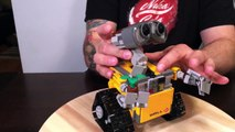Review of Lego Wall-E, Lego Ideas