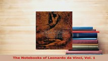 Download  The Notebooks of Leonardo da Vinci Vol 1 PDF Book Free