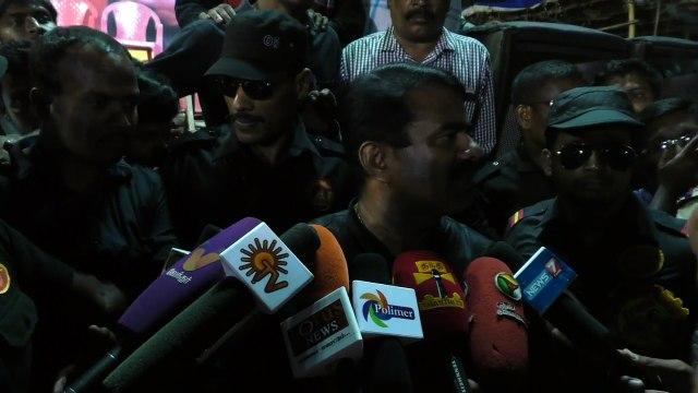 07.04.2016 | செய்தியாளர் சந்திப்பு - வேலூர் பரப்புரை | 7 APR 2016 | Seeman Press Interview During Poonamallee Campaign