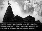Sri Lankan SINhala State Terrorism killed 25 000 Hindus & Tamils. (Om, LTTE Tamil Tigers, Tamil Eelam)