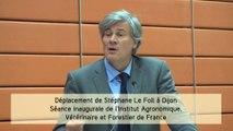Séance inaugurale de l'Institut Agronomique, Vétérinaire et Forestier de France