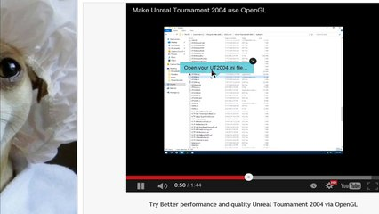 unreal tournament 2016 try better performance and quality unreal tournament 2004 via opengl