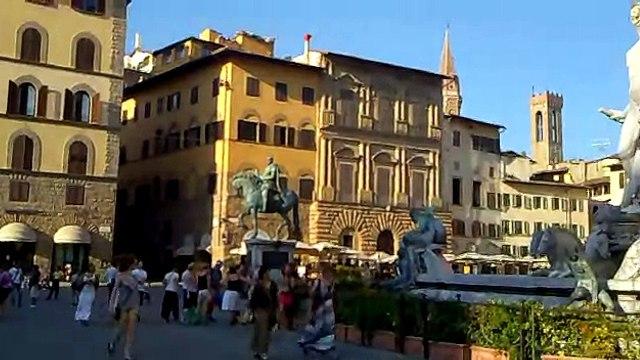Florencia  La Piazza Signoria  Galeria de la Academia