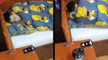 This Guy's Roommate Can Sleep Through Just About Anything