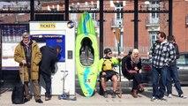 """Granhòta a testé pour vous  """"le canoë-kayak à Toulouse"""""""