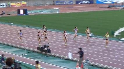 2015日本選手権 女子200m予選~決勝