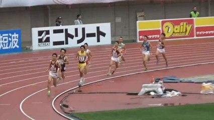 2015日本選手権 男子800m予選~決勝