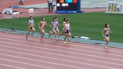 2015日本選手権 女子800m予選~決勝