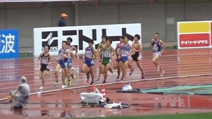 2015日本選手権 男子1500m予選~決勝