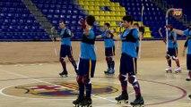 FCB Lassa (hockey): Declaraciones de Ricard Muñoz y Matías Pascual previa al partido CE Noia Freixenet - Barça Lassa